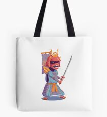 The Steady Strawberry Samurai Tote Bag