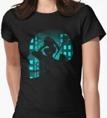 City Hunter Womens Fitted T-Shirt