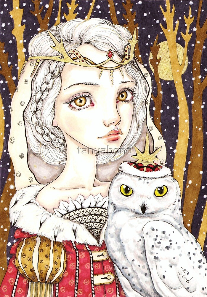 Winter Bride by tanyabond