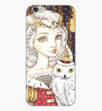 Winter Bride iPhone Case