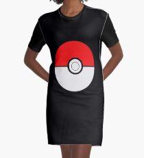 Pokemon Ball Graphic T-Shirt Dress