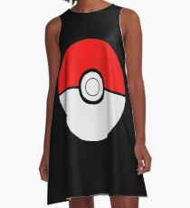 Pokemon Ball A-Line Dress