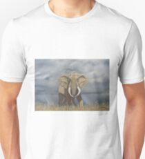 Masai Mara Bull Elephant Unisex T-Shirt