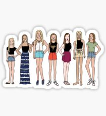 Sexy Seven Sticker
