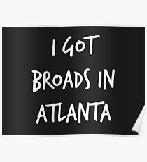 Broads in Atlanta Poster