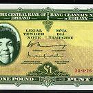 Bank of Lizard Lady by lauramulcahy
