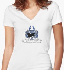 St. Brutus's Secure Centre for Incurably Criminal Boys Women's Fitted V-Neck T-Shirt