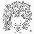 girl smiling by Kudryashka