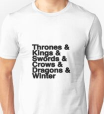 A Song of Ice and Fire Unisex T-Shirt