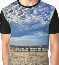 a good morning from the beach, Tel Aviv Graphic T-Shirt