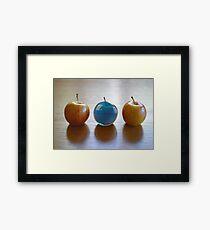 Water Apple Framed Print