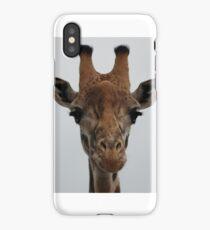Giraffe Posing iPhone Case/Skin