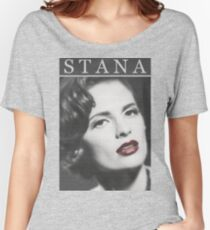 Stana Katic as Marilyn Monroe Women's Relaxed Fit T-Shirt