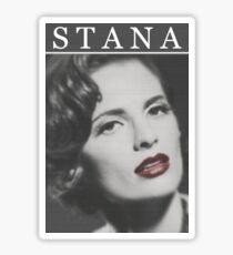 Stana Katic as Marilyn Monroe Sticker