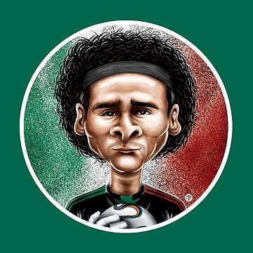 Footballicature : Guillermo Ochoa by normannazar