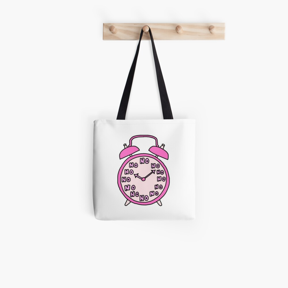 Quot Tumblr Alarm Clock Quot Tote Bag By Meganbxiley Redbubble