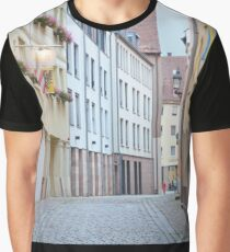 Quiet Empty Street Graphic T-Shirt