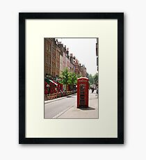 London Telephone Booth Framed Print