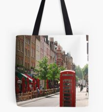 London Telephone Booth Tote Bag