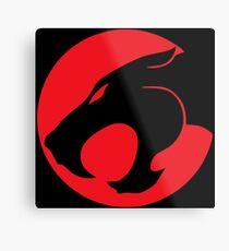 Thundercats movie cartoon logo Metal Print