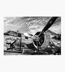 B-25 Mitchell Bomber (WWII) Yankee Warrior Photographic Print
