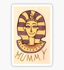 Mummy Sticker