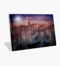 City-Art VENICE Gondolas at Sunset Laptop Skin