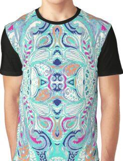 Bright Damask Jungle Graphic T-Shirt