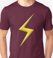 Yellow Lightning Bolt  Unisex T-Shirt