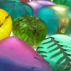 Coloured Resin Beads Design 1 by noworrybeads