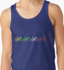 Bike Stripes Tour de France Jerseys v2 Tank Top