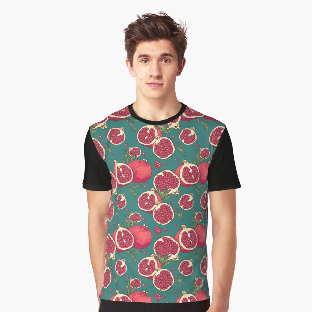 Juicy pomegranate fruits Graphic T-Shirt