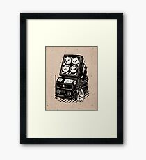 Cat Cats Framed Print