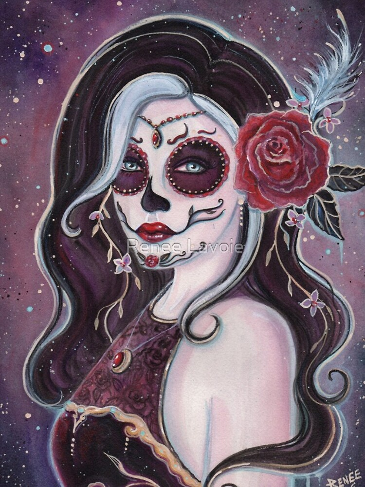 Alegria day of the dead art by Renee Lavoie by fairylover17