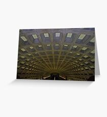 DC Metro Greeting Card