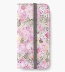 HAPPY MERMAID PINK iPhone Wallet/Case/Skin