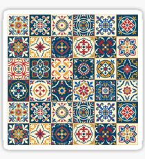 Moroccan Tiles Pattern Sticker
