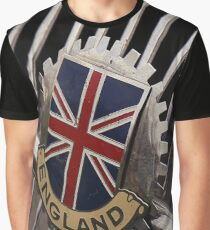 british flag, mg car Graphic T-Shirt