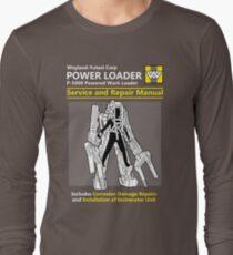 Power Loader Service and Repair Manual Long Sleeve T-Shirt