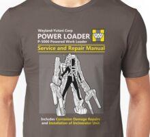 Power Loader Service and Repair Manual Unisex T-Shirt