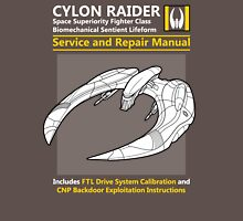 Cylon Raider Service and Repair Manual Unisex T-Shirt