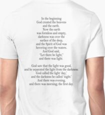 Bible, Genesis 1:1, God, Biblical, Book of Genesis, In the Beginning T-Shirt