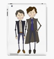 Benedict Cumberbatch's Sherlock inspired design iPad Case/Skin