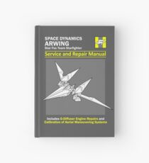 Arwing Service and Repair Manual Hardcover Journal