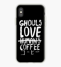 Ghouls love coffee iPhone Case