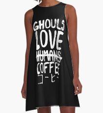 Vestido acampanado Ghouls encanta el café