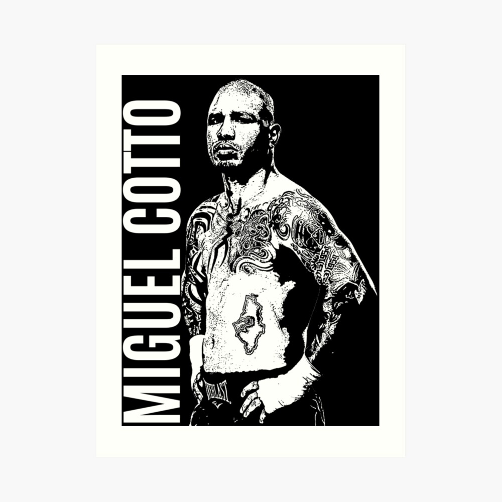 Miguel Cotto Art Print