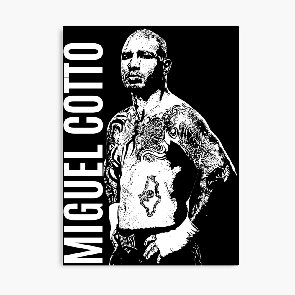 Miguel Cotto Canvas Print