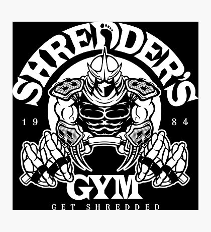 Shredder's Gym Photographic Print