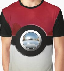 Red Pokeball Graphic T-Shirt